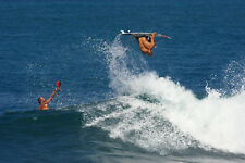 """Kelly Slater in Indonesia 8x12"""" Photo by Pete Frieden"""