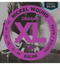 D'addario Exl156 - Jeu de cordes Guitare basse Électrique