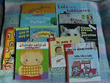 Lot of 11 Spanish Children's Books Grades K-3 Paperbacks