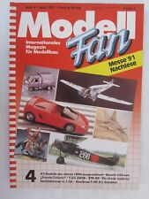 Modell Fan Magazine - Heft 4 April 1991 GERMAN TEXT