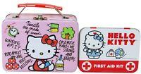 Hello Kitty Mini Tin Set of 2 Twinket Box Tins - School