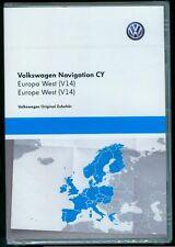 VW RNS 510 810 CY V14 Europa Europe West 2016 2017 Continental Seat Skoda DVD