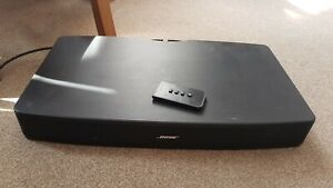 Bose Solo TV Sound System Model 410376 Black With Remote Good Condition