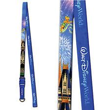 Disney Parks Pin Lanyard Walt Disney World Castle Reversible Trading Pin