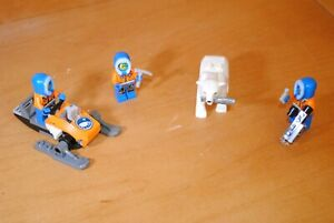 LEGO Arctic Explorer Minifigure Lot & Polar Bears 60036