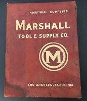 Vtg 1945 MARSHALL TOOL & Supply Corp. Hardware Catalog #45 Los Angeles