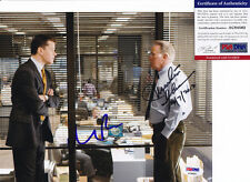MATT DAMON & MARTIN SHEEN DUAL SIGNED AUTOGRAPH 8X10 PHOTO DEPARTED PSA/DNA COA