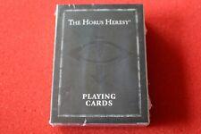Games Workshop Warhammer 40k The Horus Heresy Playing Cards Deck BNIB New Sealed