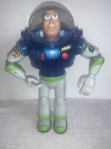 """Toy Story Buzz Lightyear With Blue Chest 12"""" Thinkway Toys Rare Working"""