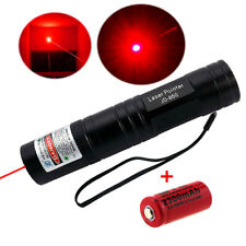 Red 1mW 650nm Laser Pointer Pen Lazer Light Ray Visible Beam 16340 Battery