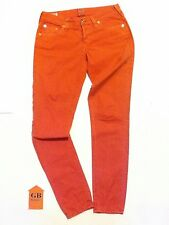 9 (30in)Size Womens Jeans Pants True Religion Brianna Pinkish Red 35#3