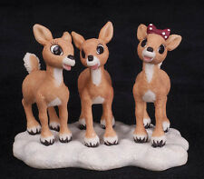 2001 Enesco Figurine Holidays are More Fun Rudolph Island of Misfit Toys 875317