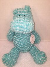 "NWT-13"" Manhattan Toy - Adorables Mason Hippo Medium Soft Doll"