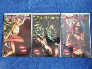 The DEVIL'S REJECTS SDCC Exclusive Set - ALL 3 COVERS! Baby, Spaulding, Otis- NM