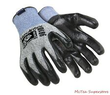 HexArmor 9010 Black Gray SuperFabric Level 5 Cut Resistant Gloves - Medium