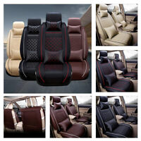 Universal Car Seat Cover Waterproof Four Season Cushions For 5-Seats SUV Truck