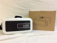 Habor VR 3D Headset for Smartphones Video Game Glasses (New/OPENED BOX) E075 R