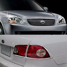 Chrome Head lamp Cover Rear Tail Light Molding for KIA 2007-2008 Optima Magentis