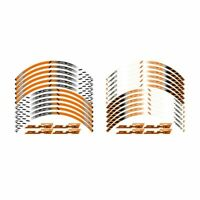 For KTM DUKE 12 X Thick Edge Outer Rim Sticker Stripe Wheel Decals