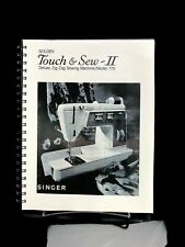 SINGER 770 Touch & Sew Sewing Machine Owners Instruction Vintage Manual COPY