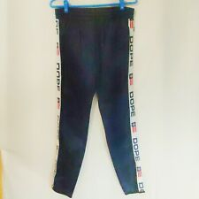 Dope Brand Track Pants Blue Size Large