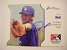 JOSH WALL signed DODGERS ANGELS 2006 Just Minors baseball card AUTO Autographed