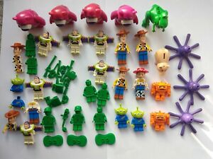 LEGO Toy Story Minifigures Bundle, Figures, Parts and Spares, Woody, Buzz