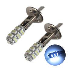 2x Bright White 25-SMD LED H1 448 Daytime DRL 12v Fog Light Bulbs
