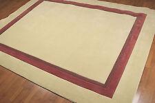 8' x 10' Handmade modern design Area rug AOR7761-8x10 Cream
