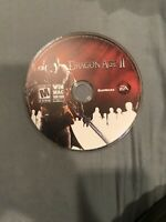 DRAGON AGE II - 1 Disc PC VIDEO GAME - WINDOWS MAC DVD-ROM 2011 2 bioware
