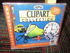 SOFTKEY - CLIPART COLLECTION PC CD-ROM, OVER 3000 SCALABLE IMAGES, WINDOWS/MAC
