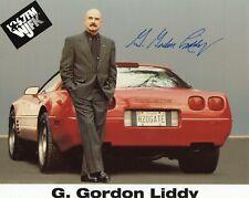 G GORDON LIDDY AUTOGRAPH, WATERGATE SCANDAL, NIXON