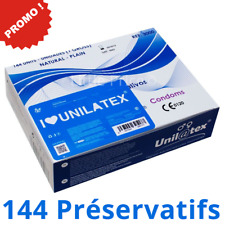 Boîte de 144 Préservatifs Unilatex - Norme CE - Livraison Rapide