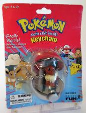 Pokémon Eevee PokeBall Keychain Factory Sealed Action Figure Toy Made 1999