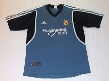2001 REAL MADRID 3RD ADIDAS MEDIUM SPAIN ESPAñA JERSEY LFP ZIDANE FIGO CASILLAS