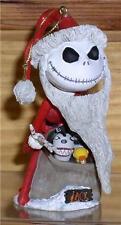 Jack Santa with toys Bobble Head Nightmare Before Christmas ornament NMBC