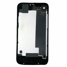 For iPhone 4S A1387 Battery Cover Back Door Rear Glass Replacement Black