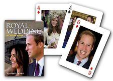 Royal Wedding set of 52 playing cards + jokers (gib)