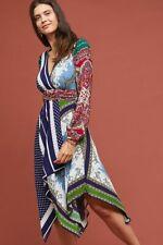New Anthropologie Istanbul Wrap Dress by Moulinette Soeurs. size 14