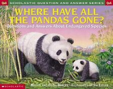 Scholastic Question & Answer: Where Have All the Pandas Gone?