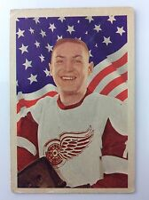 1963-64 Terrance Terry Sawchuk #53 Parkhurst Detroit Red Wings Hockey Card A876