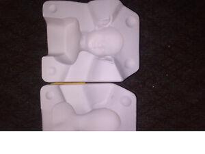 Porcelain Slip Casting Mold Jennifer Estaban Belle Elf Head