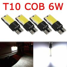 4PCS T10 W5W 194 168 LED 5W COB No Error Canbus Side Lamp Wedge Light Bulb White