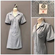 C&A Pale Blue Mix Shirt Dress UK 18 EUR 46 US 14