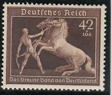 TIMBRE ALLEMAGNE  NEUF * CHARNIERE  N° 639  RUBAN BRUN