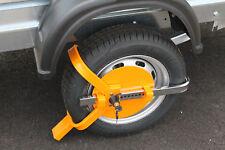 MAYPOLE Universal Trailer Wheel Clamp Yellow SECURITY