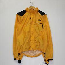 The North Face Gore Activent Jacket Size Men XL Black Yellow Shoulder Pads