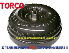 Dodge 47RE 48RE BILLET cover TRIPLE clutch - HD LOW STALL torque converter