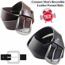 New Genuine Real Leather Belt Mens Belts Buckle Trouser Brown Black Tan Jeans