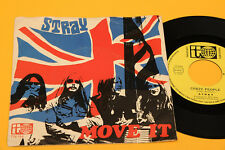 """STRAY 7"""" MOVE IT 1°ST ORIG ITALY 1974 EX UNIQUE DIFFERENT COVER"""